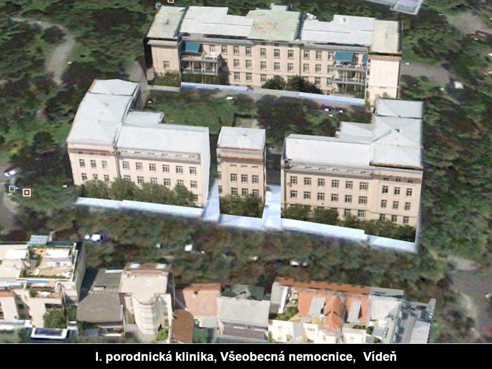 I. porodnická klinika, Všeobecná nemocnice, Vídeň