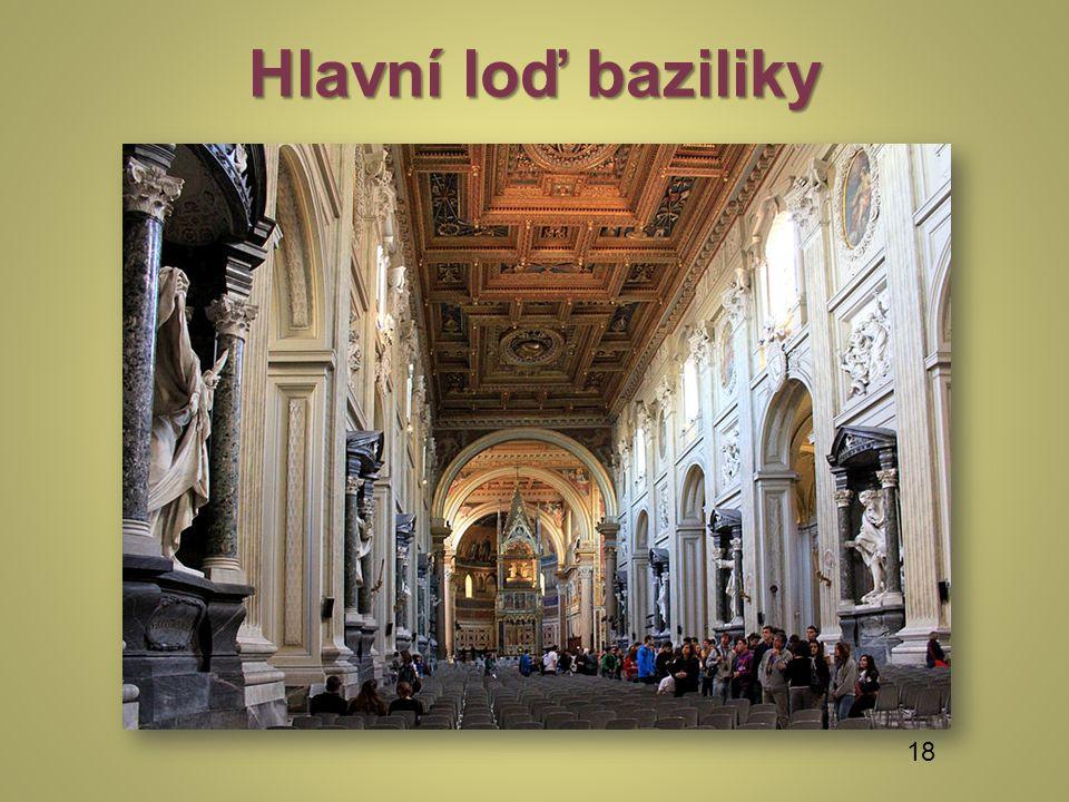 Hlavní loď baziliky 18