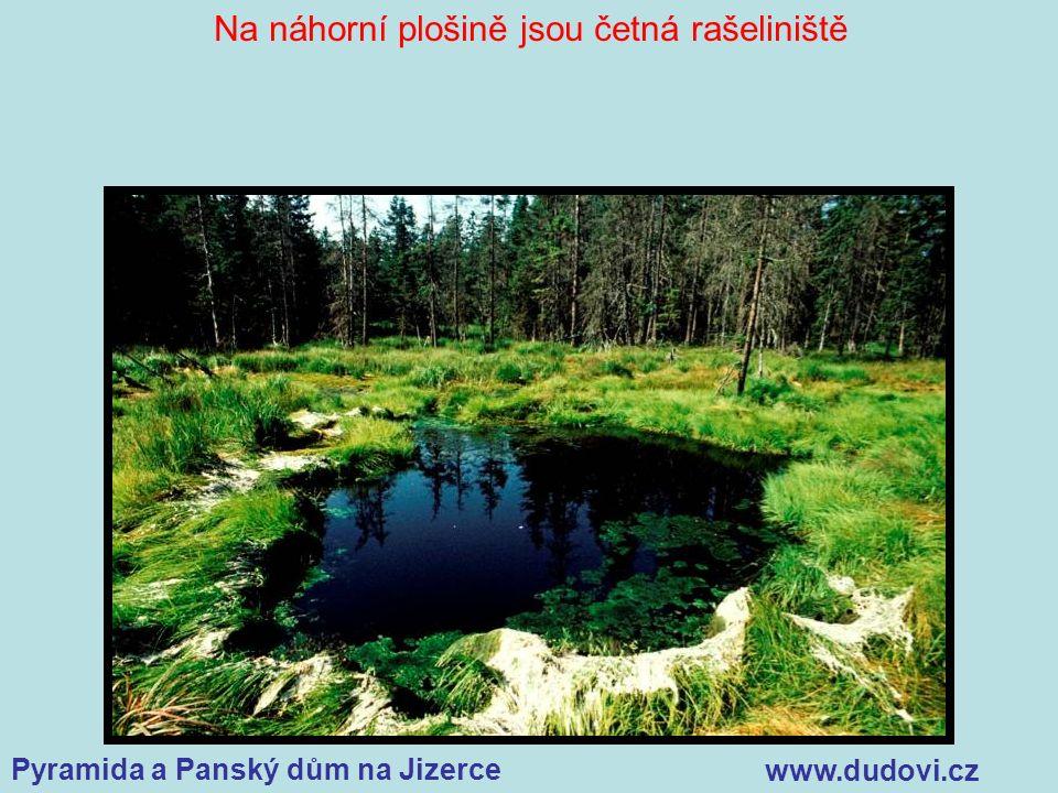 Pyramida a Panský dům na Jizerce www.dudovi.cz Na náhorní plošině jsou četná rašeliniště