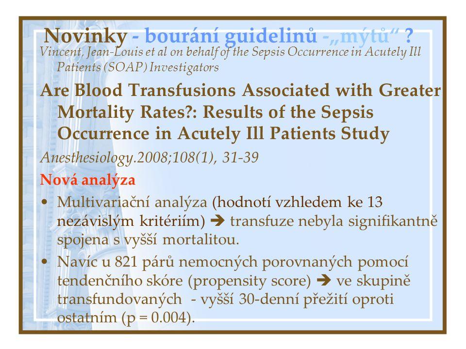 Graf 5 Závislost mortality na době podání rFVIIa Celý soubor x centrum 2