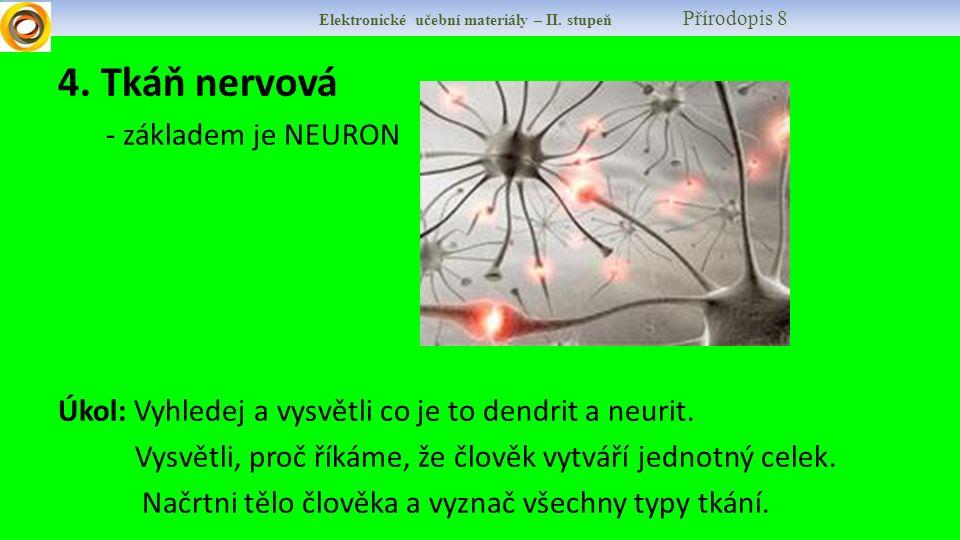 Elektronické učební materiály – II. stupeň Přírodopis 8 4.