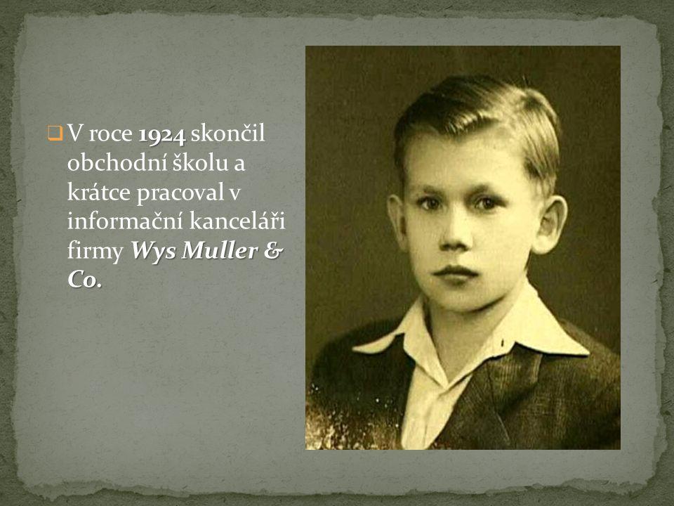 1924 Wys Muller & Co.