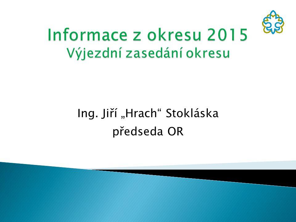 """Ing. Jiří """"Hrach"""" Stokláska předseda OR"""