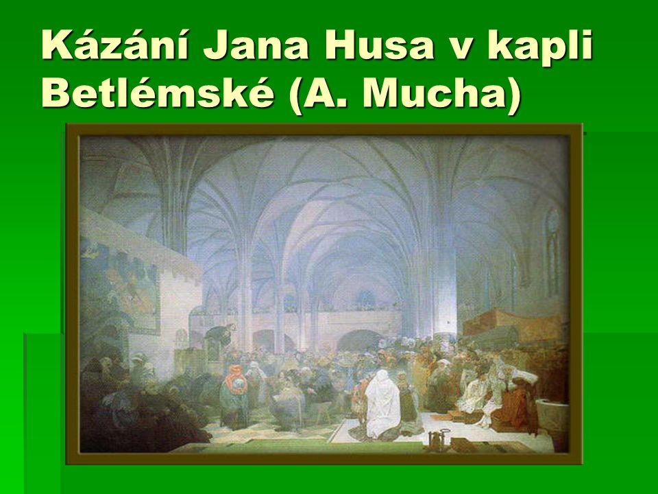  Zasloužil se o vydání Kutnohorského dekretu (Václav IV.