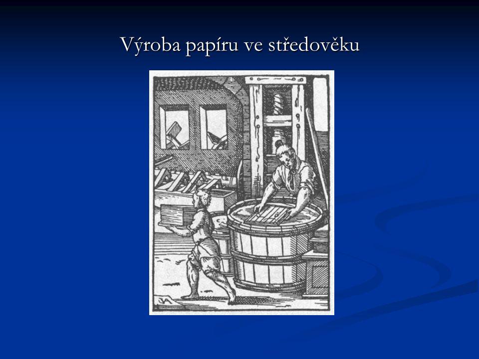 Výroba papíru ve středověku