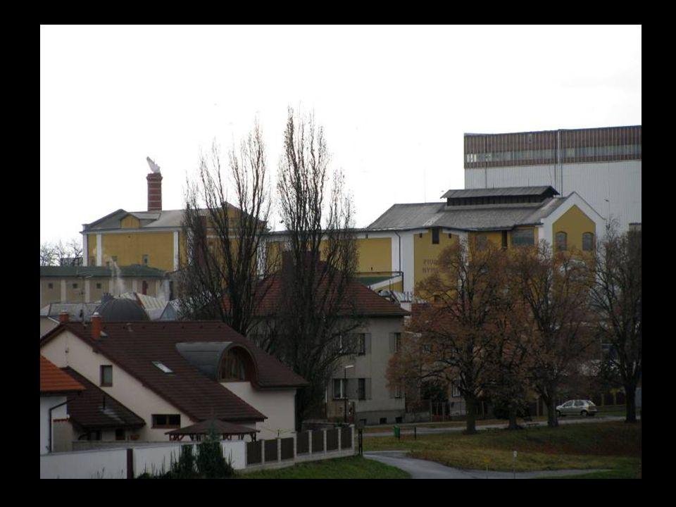 Pivovar Postřižiny v Nymburce, kde Bohumil Hrabal prožil dětství a mládí.