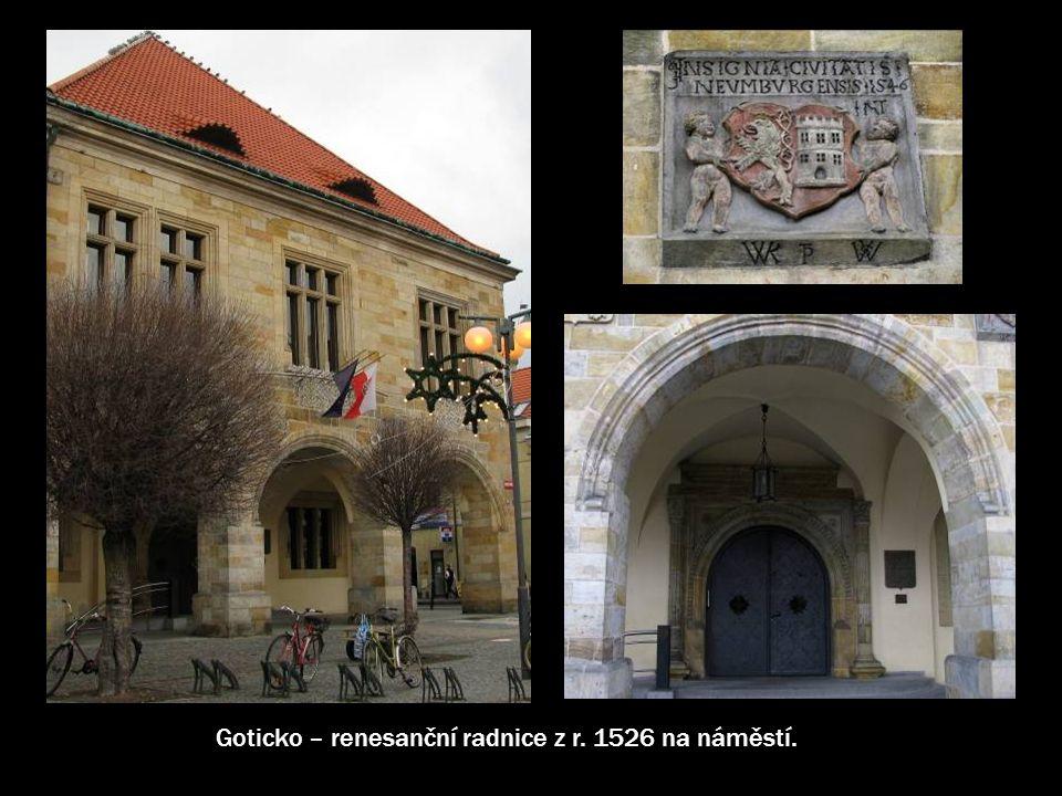 Náměstí Přemyslovců, historické jádro Nymburka bylo vyhlášeno městskou památkovou zónou.