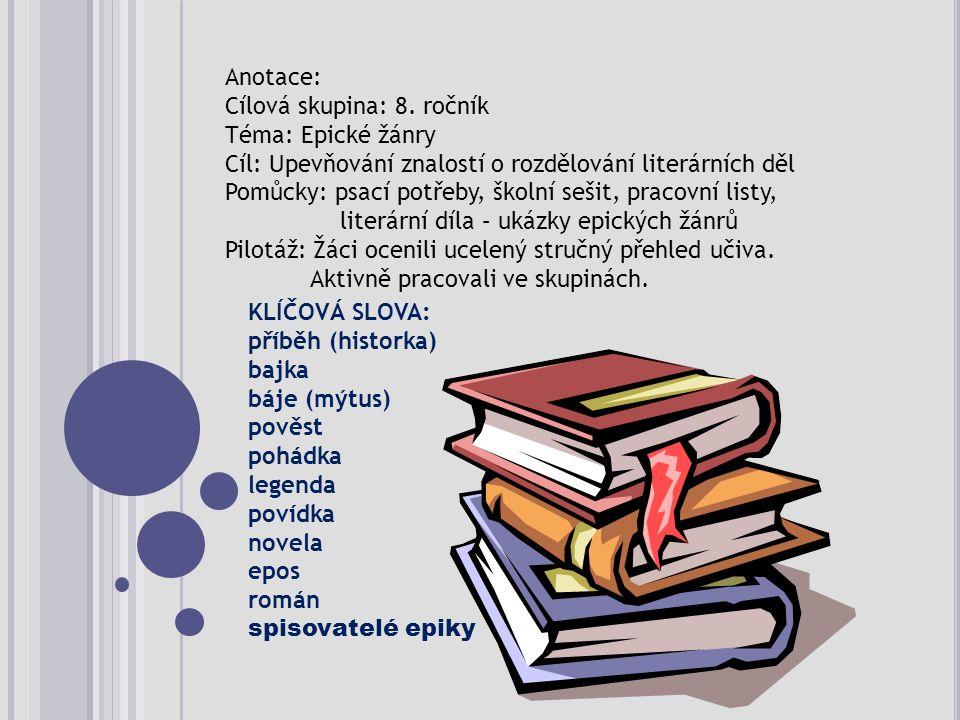 Literární druhy epikalyrikadrama