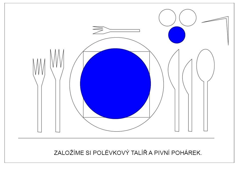 Opakovací test k tématu: Slavnostní hostiny – zakládání inventáře na slavnostní tabuli.