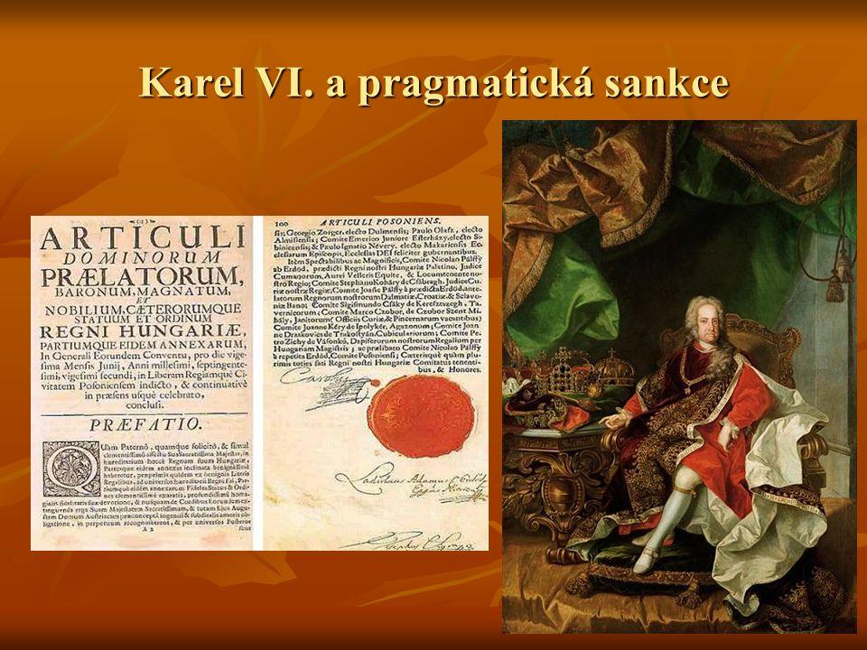 Karel VI. a pragmatická sankce
