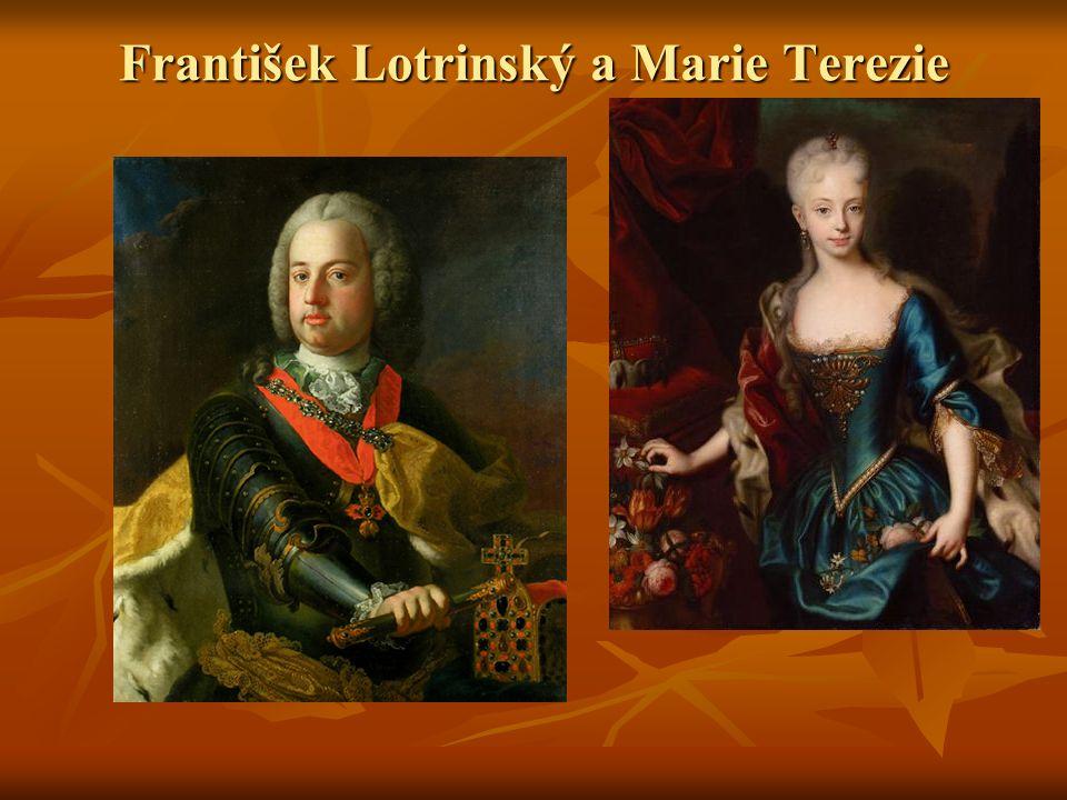 František Lotrinský a Marie Terezie