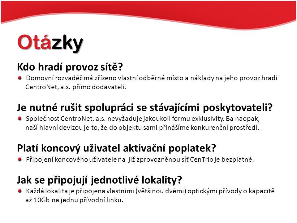 Kontakty Aleš Babinský Koordinátor výstavby E-mail: ales.babinsky@centronet.cz Telefon: +420 739673381 CentroNet, a.s.