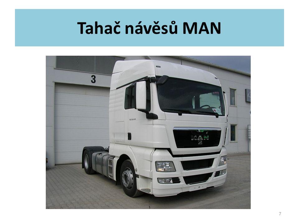 Tahač návěsů MAN 7