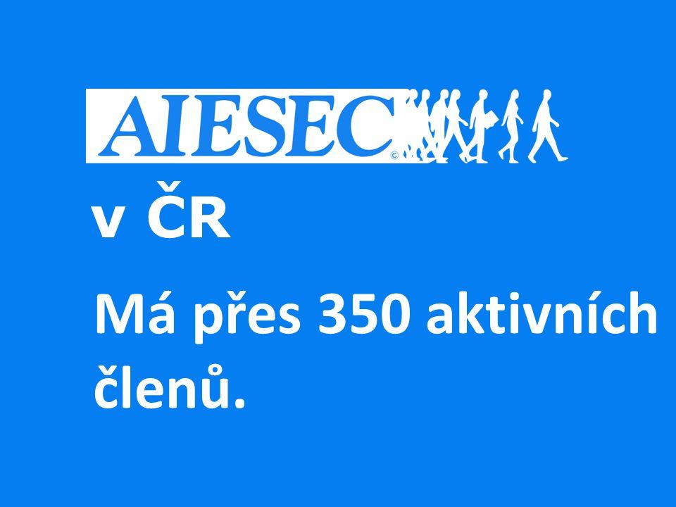 v ČR Má přes 350 aktivních členů.