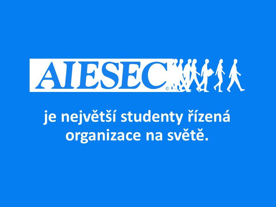 je největší studenty řízená organizace na světě.