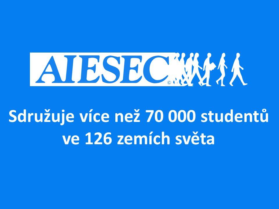 Sdružuje více než 70 000 studentů ve 126 zemích světa