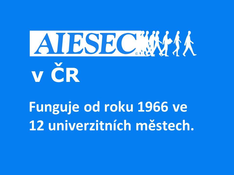 Funguje od roku 1966 ve 12 univerzitních městech.