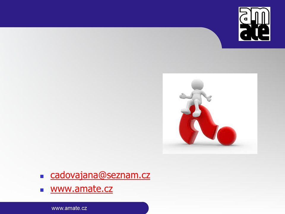 cadovajana@seznam.cz www.amate.cz