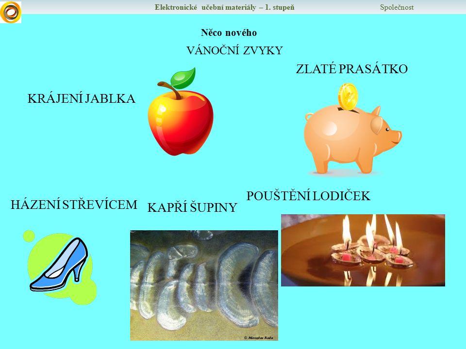 Elektronické učební materiály – 1.