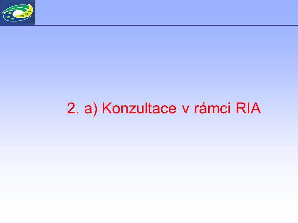 Konzultace v rámci RIA Plán komunikační kampaně včetně vědeckých konferencí v Brně a v Praze a workshopů s odbornou veřejností.