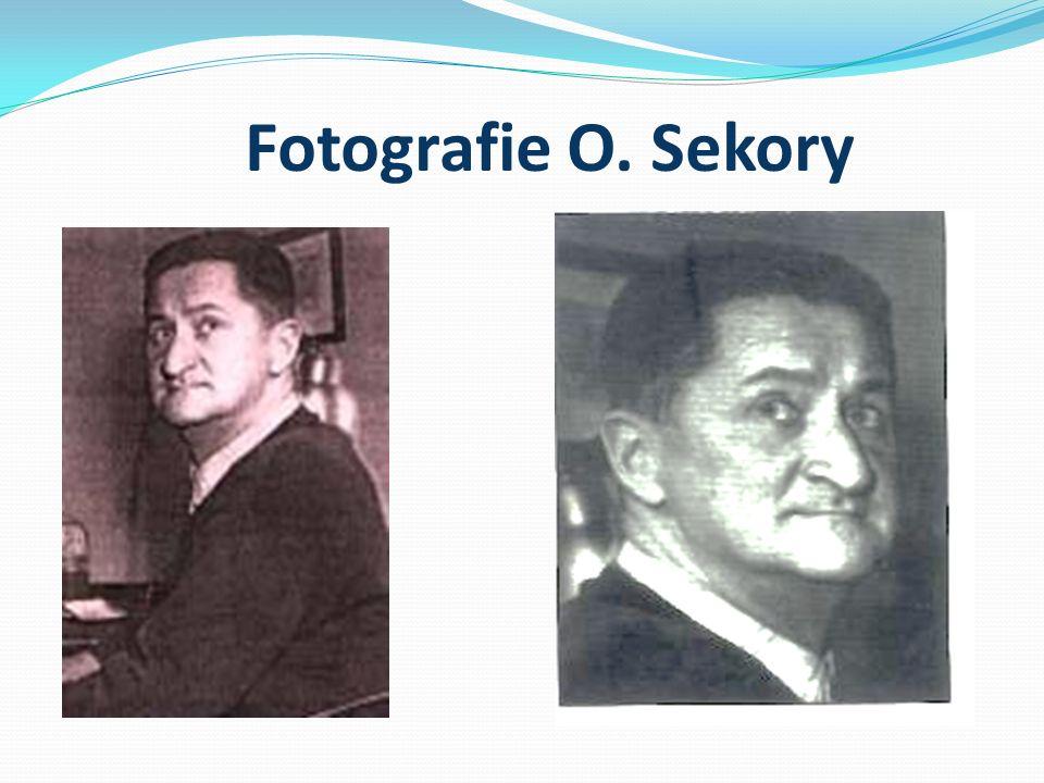 Ondřej Sekora (1899-1967) Spisovatel, novinář, kreslíř, grafik, ilustrátor, karikaturista a entomolog.
