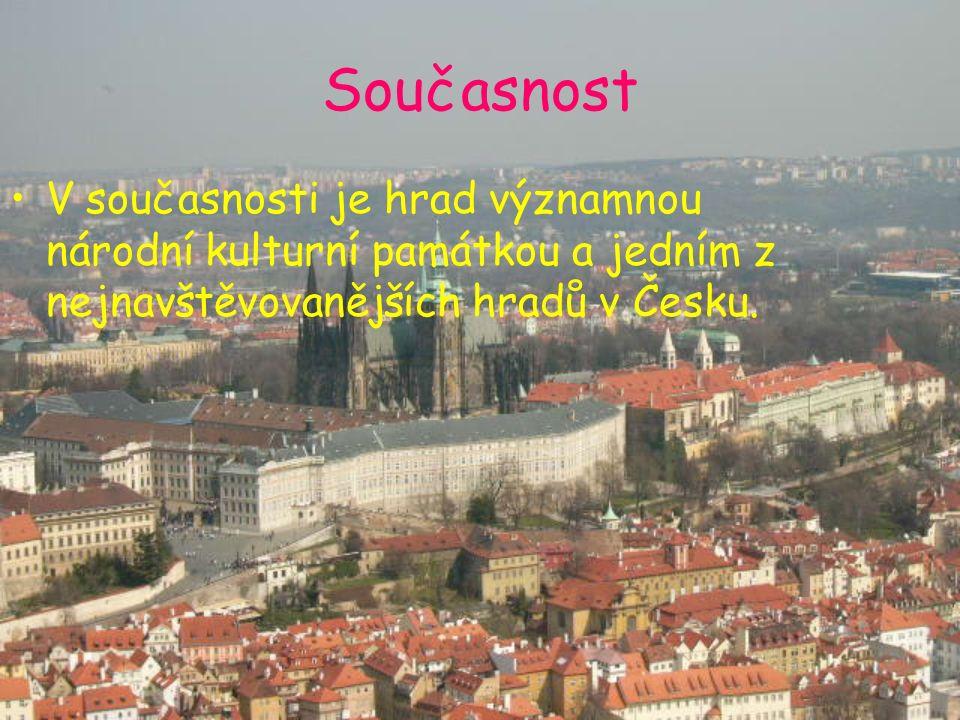 Současnost V současnosti je hrad významnou národní kulturní památkou a jedním z nejnavštěvovanějších hradů v Česku.