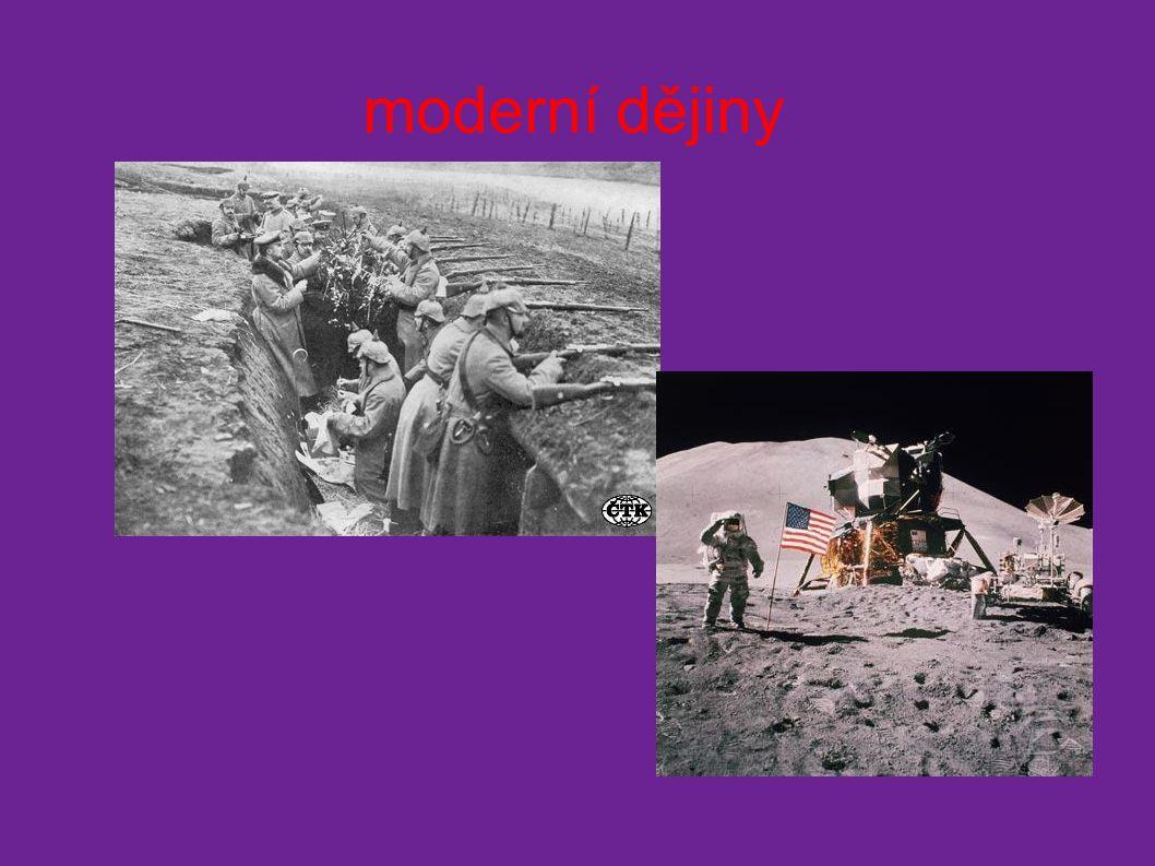 moderní dějiny