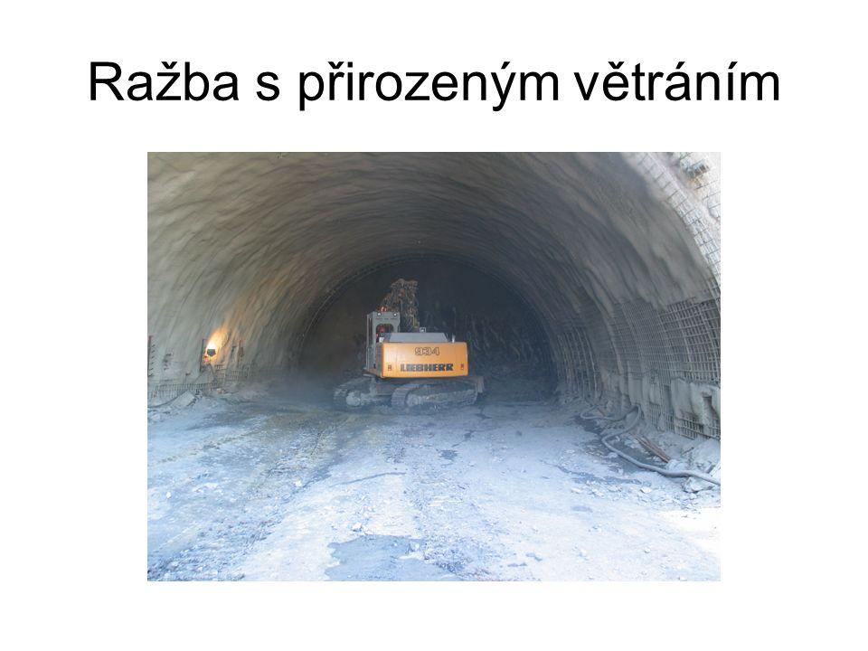 Provozní větrání v tunelech má zabezpečit Zředění koncentrace škodlivin v ovzduší na přípustnou míru Dobrou viditelnost pro průjezd vozidel tunelem s ohledem na dovolenou rychlost Snížení účinků tepla a kouře z požáru na osobu v tunelu Řízený rozptyl škodlivin z tunelu, a tím i snížení imisního zatížení jeho okolí