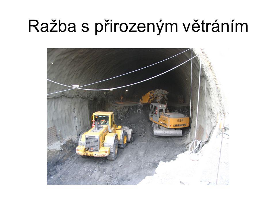 Větrací systém tunelu Mrázovka