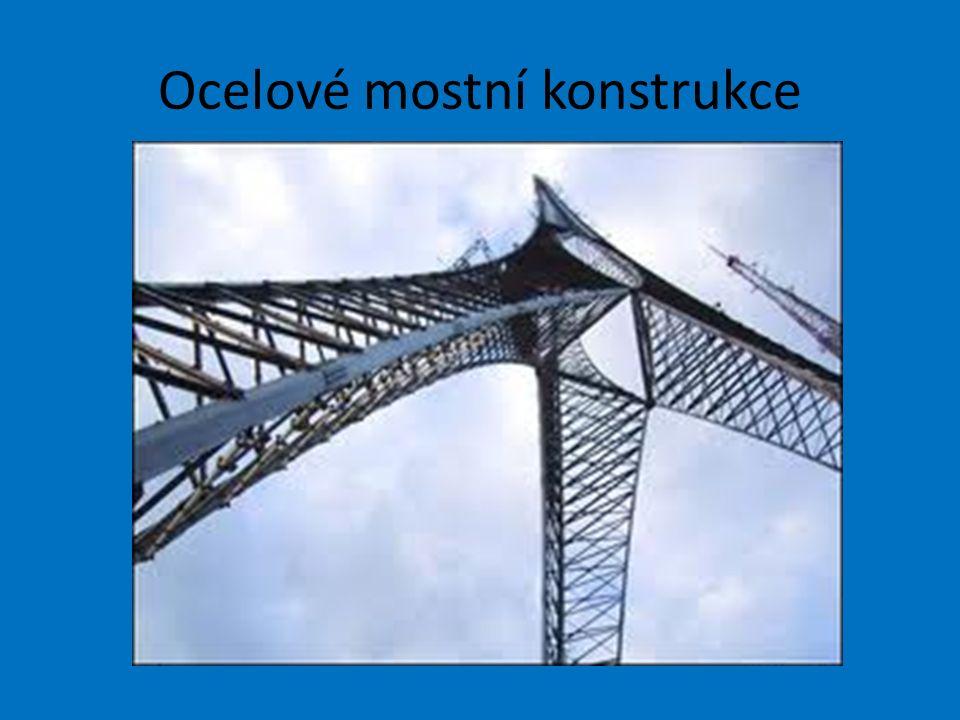 Ocelové mostní konstrukce