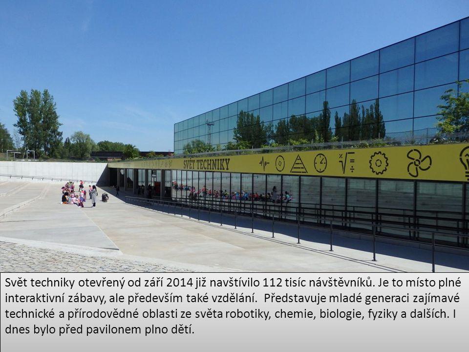 Svět techniky otevřený od září 2014 již navštívilo 112 tisíc návštěvníků.