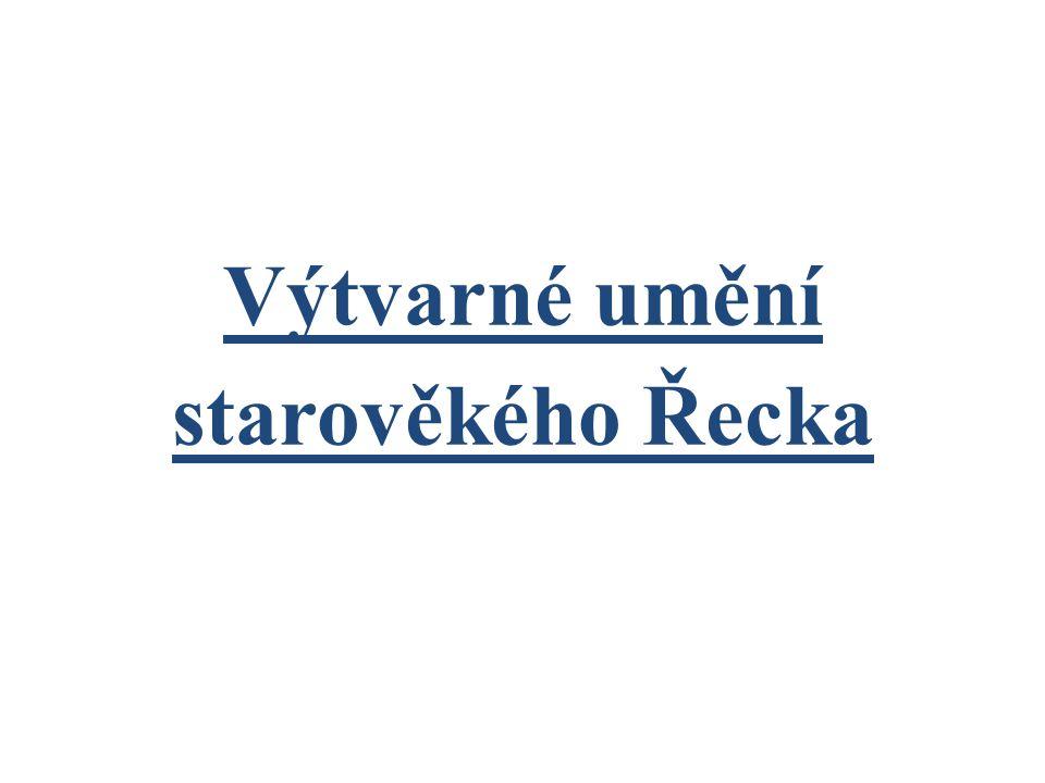 Použité zdroje MRÁZ, Bohumír.Dějiny výtvarné kultury 1).