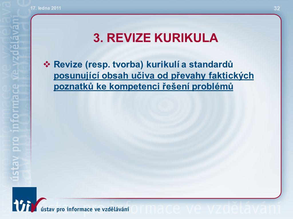 3.REVIZE KURIKULA  Revize (resp.