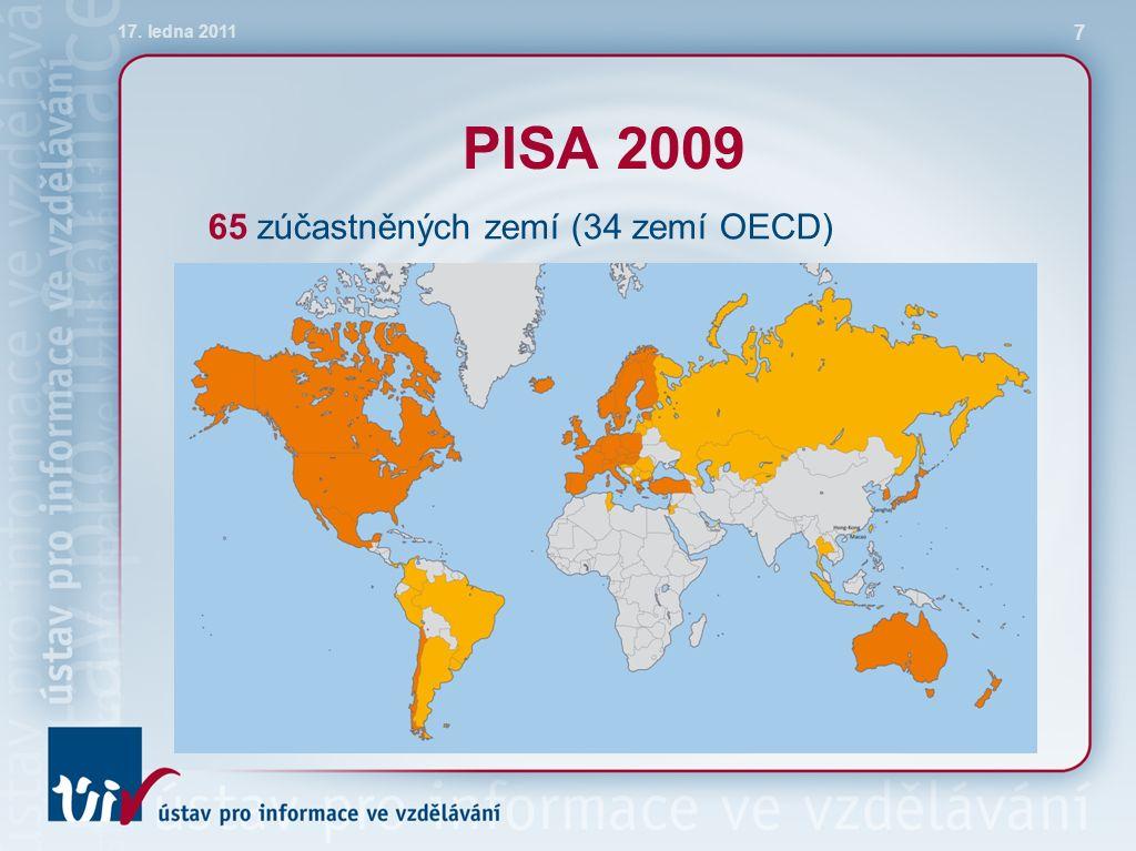 Čtenářská gramotnost v různých druzích škol 17. ledna 2011 18