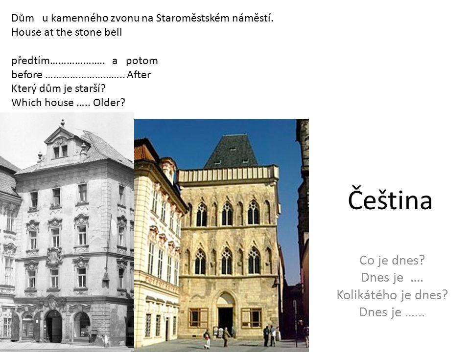 Čeština Co je dnes. Dnes je …. Kolikátého je dnes.