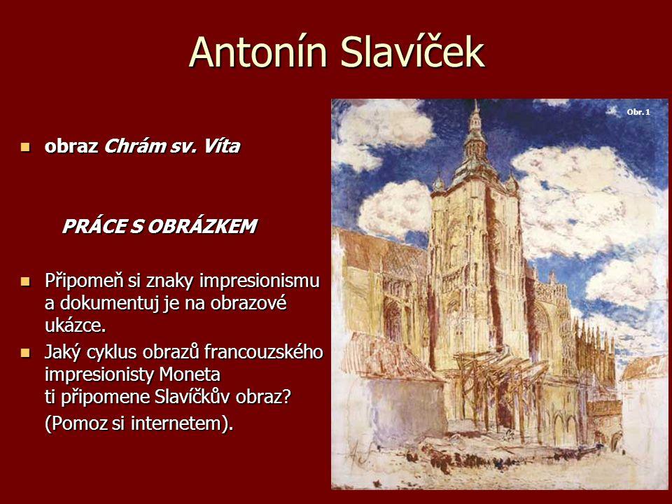 Antonín Slavíček obraz Chrám sv. Víta obraz Chrám sv.