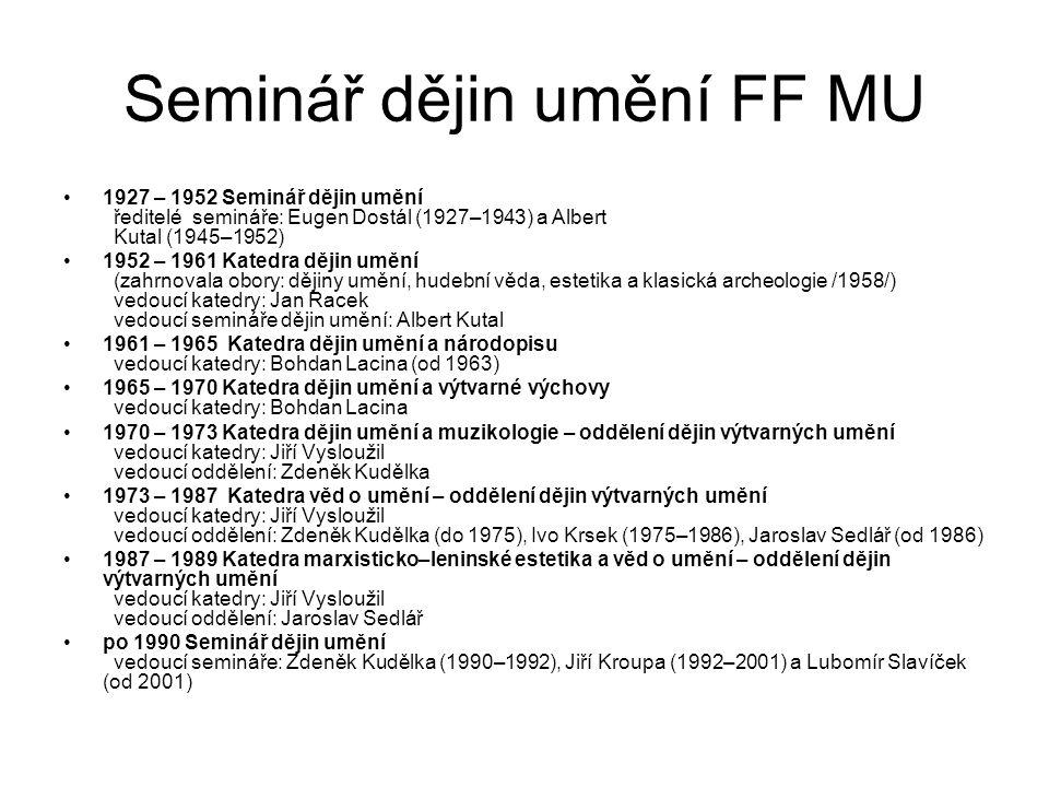 Předměty – charakteristika https://is.muni.cz/auth/predmety/katalog.pl?fakulta=1421