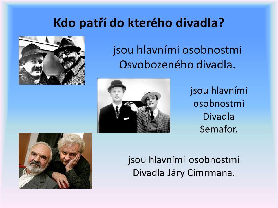 11.Otázky a odpovědi: Kdo je Zdeněk Svěrák. Do kterých částí můžeme rozdělit jeho tvorbu.