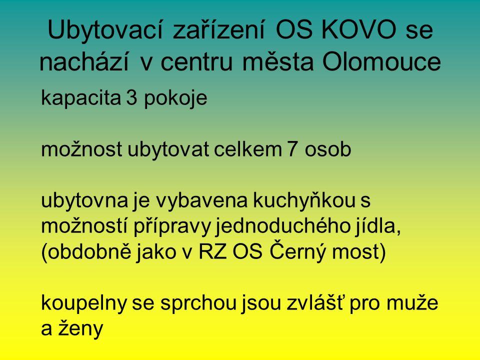 Způsob objednání ubytování: ubytování je možné objednat přímo u OS KOVO regionální pracoviště Olomouc: JUDr.
