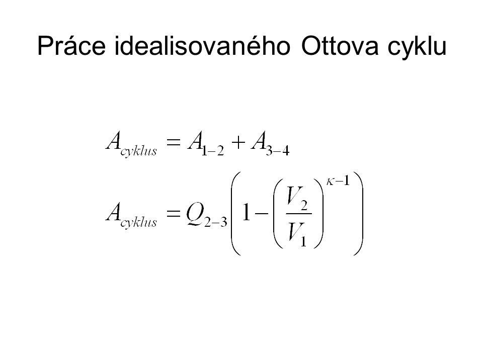 Práce idealisovaného Ottova cyklu