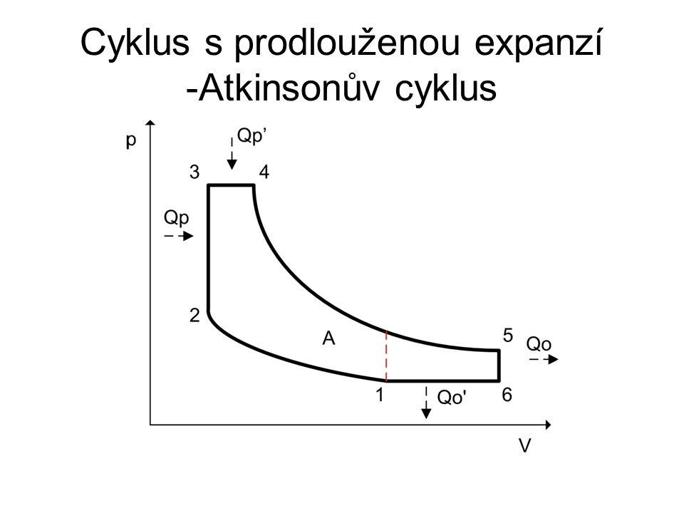 Cyklus s prodlouženou expanzí -Atkinsonův cyklus