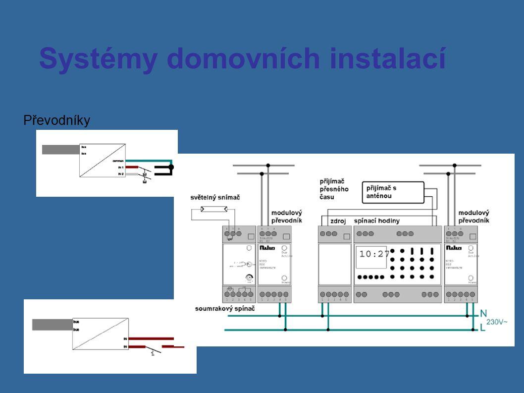 Systémy domovních instalací Převodníky