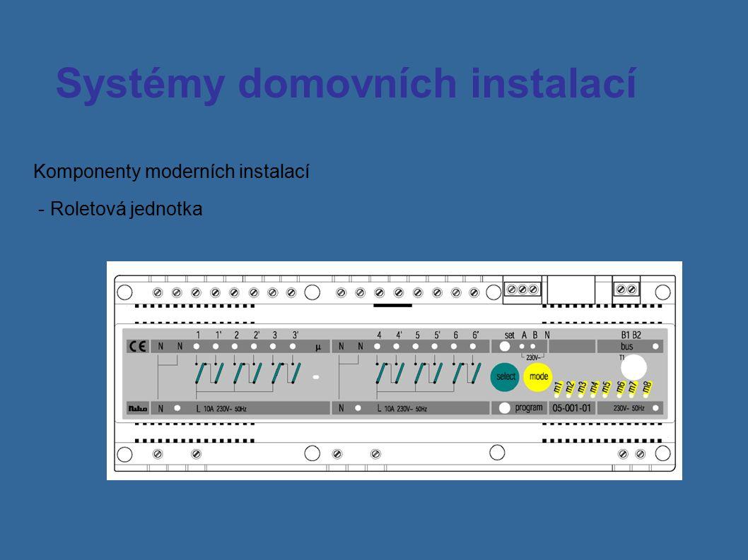 Systémy domovních instalací Přijímač přesného času se zdrojem