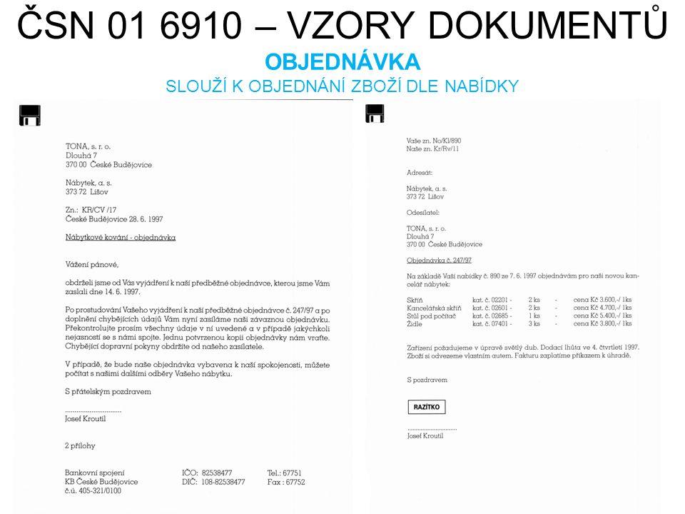 ČSN 01 6910 – VZORY DOKUMENTŮ REKLAMACE HAMISH2K.cs.wikipedia.org [online].