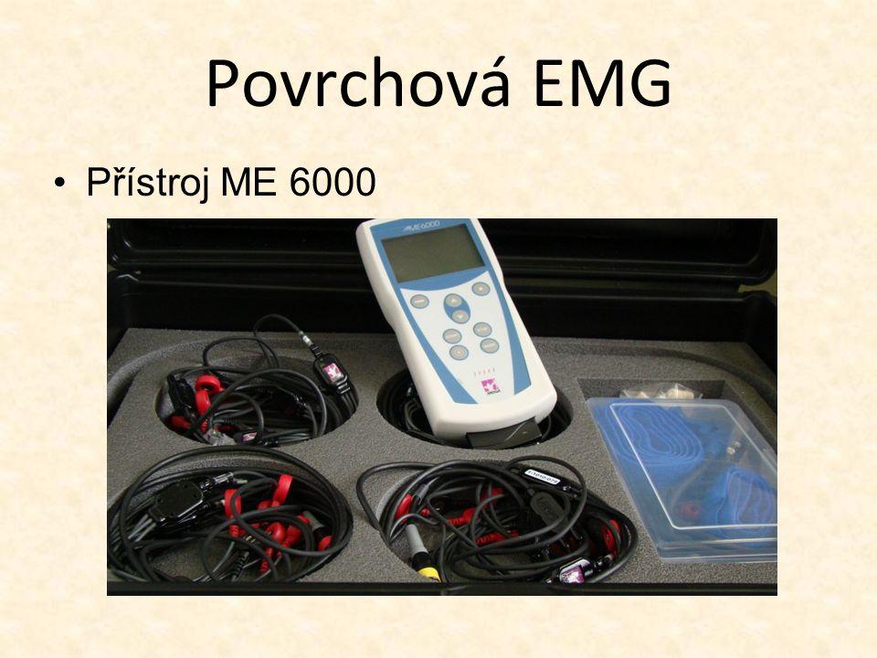 Povrchová EMG Přístroj ME 6000