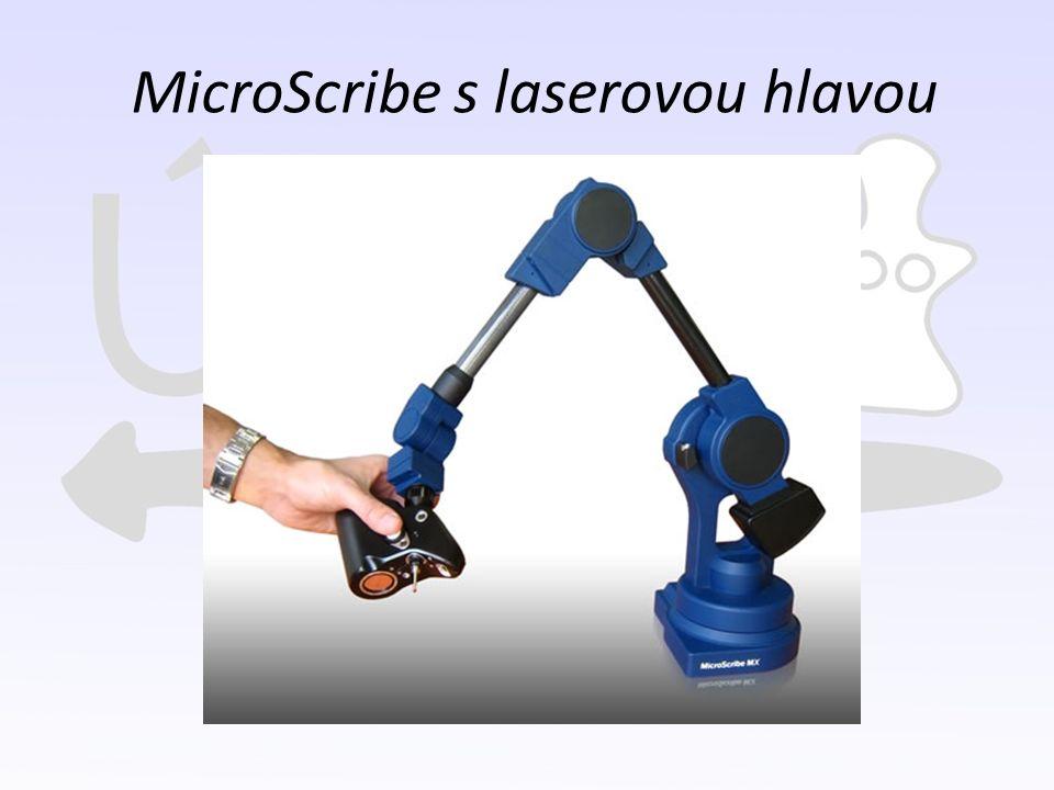 MicroScribe s laserovou hlavou