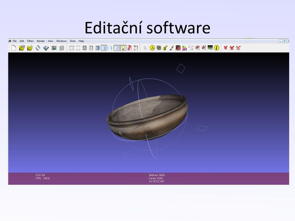 Editační software