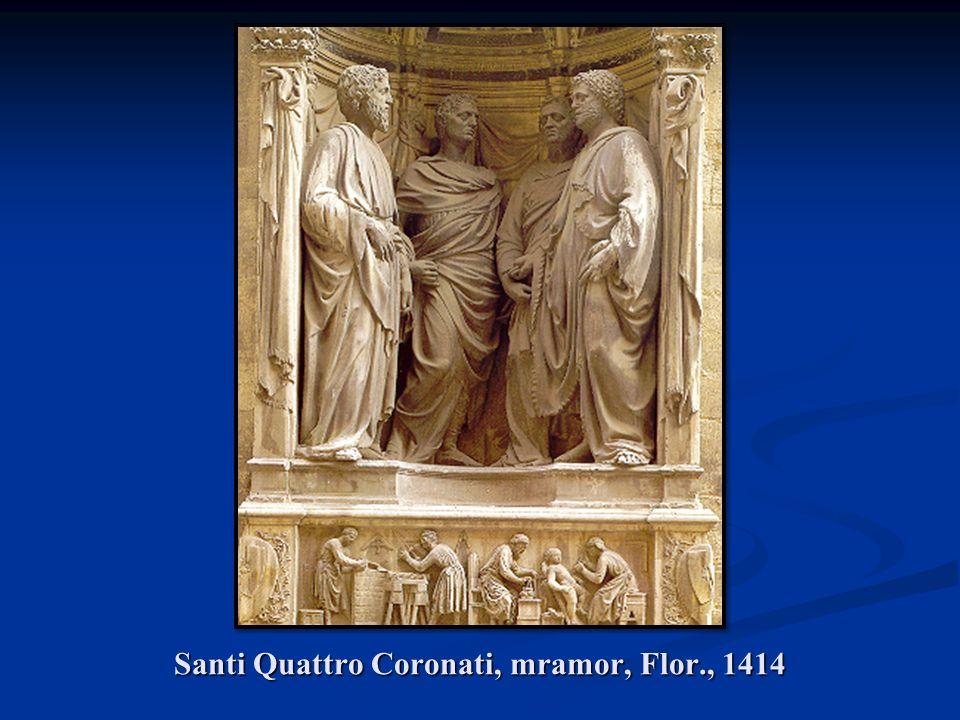 Santi Quattro Coronati, mramor, Flor., 1414