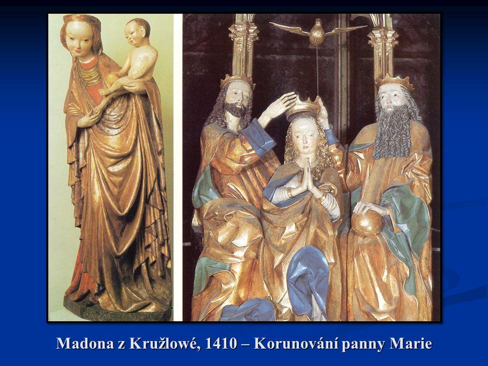 Madona z Kružlowé, 1410 – Korunování panny Marie