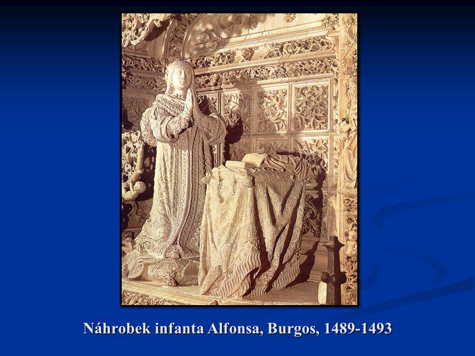 Náhrobek infanta Alfonsa, Burgos, 1489-1493